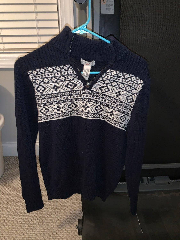 Docker's quarter zip Sweater