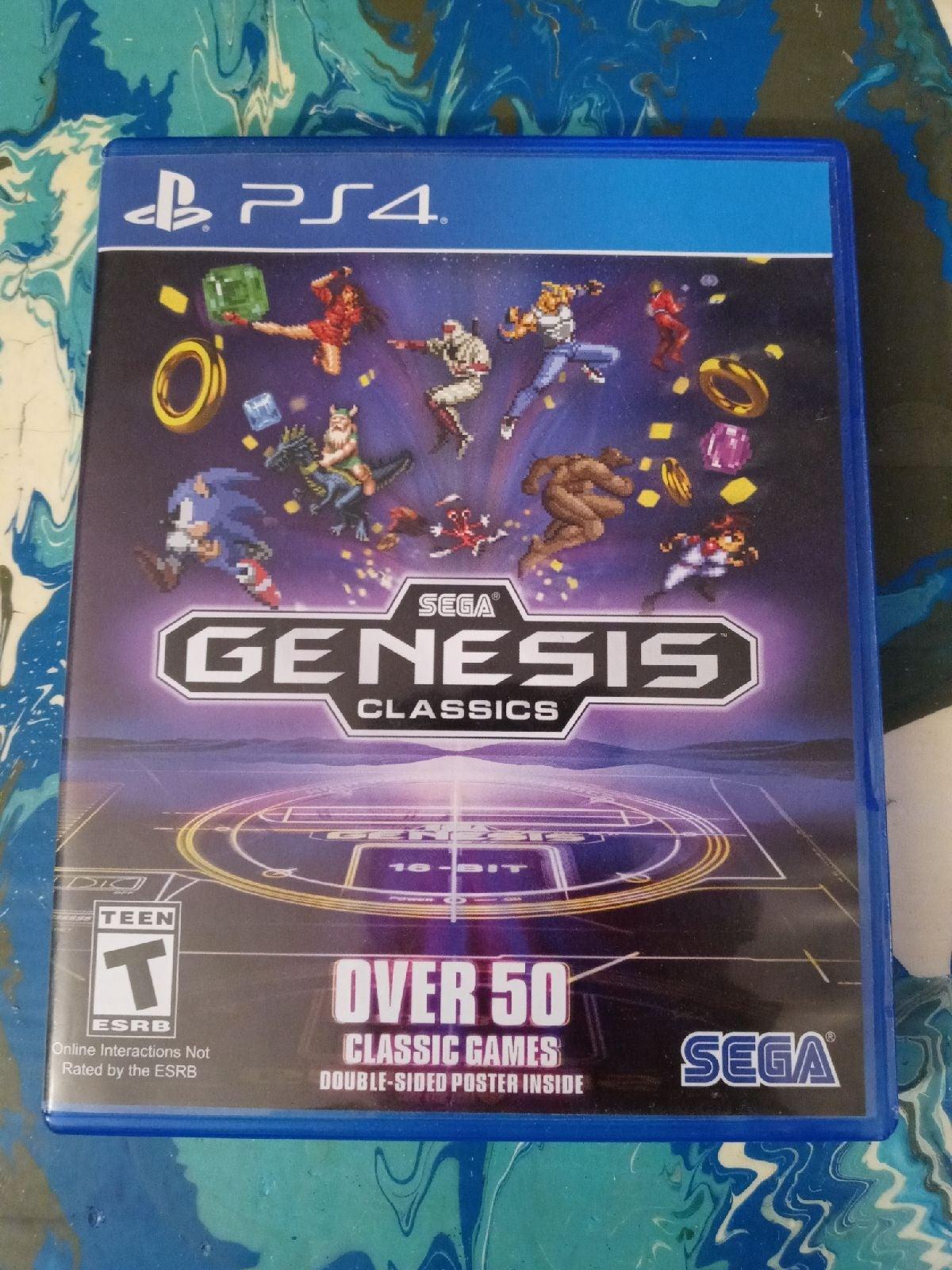 ps4 games Sega Genesis classics