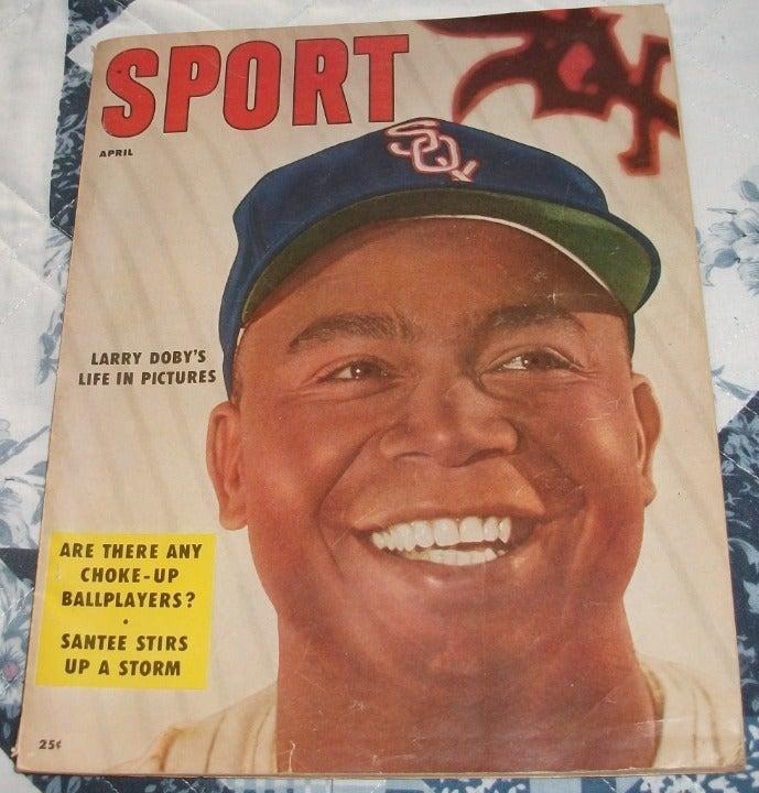 April 1956 SPORT Magazine w/LARRY DOBY