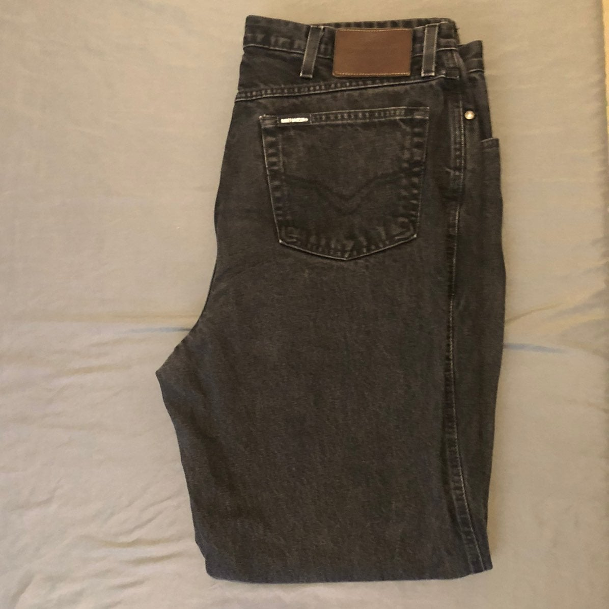Harley Davidson Biker Blues Denim Jeans