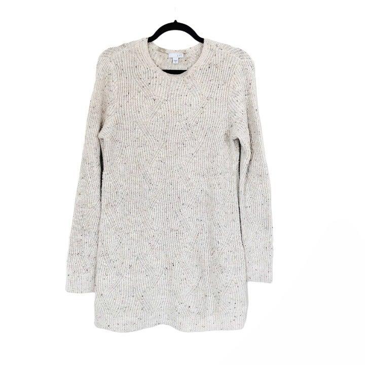J. Jill Rib Knit Pullover Tunic Sweater