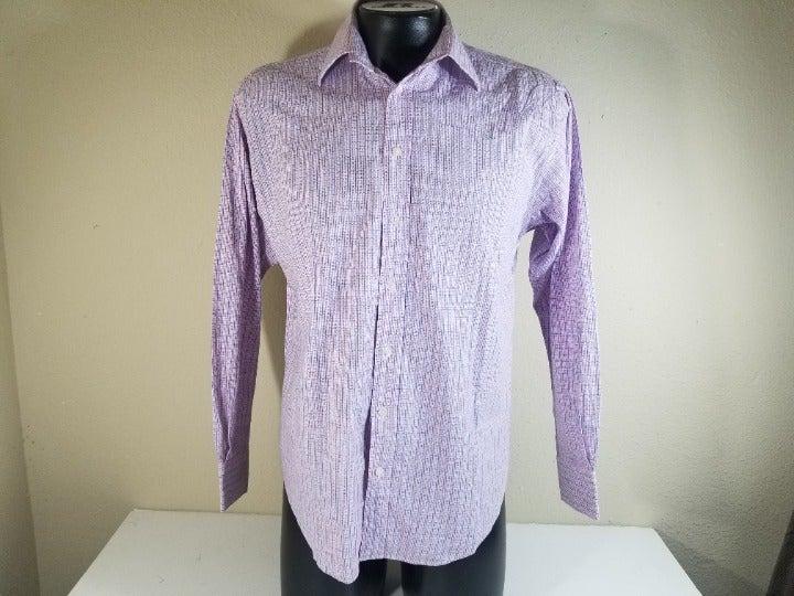 Yves Saint Laurent Men Dress Shirt Sz M