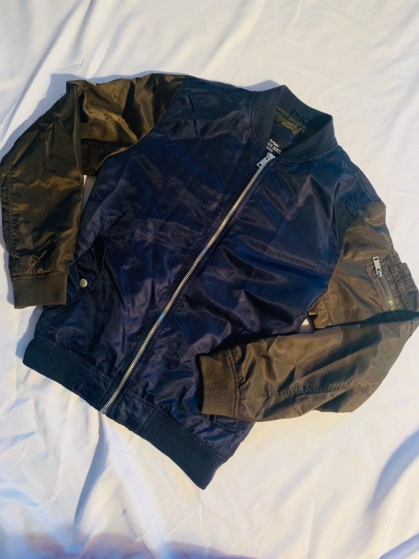 Brave Soul Zipper Bomber Jacket
