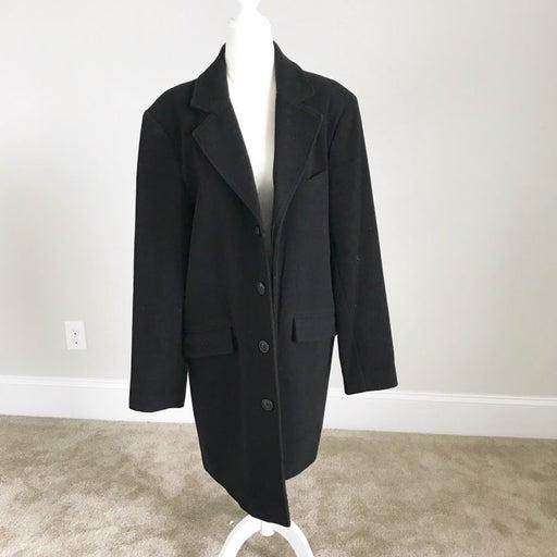 Covington Black Wool Jacket