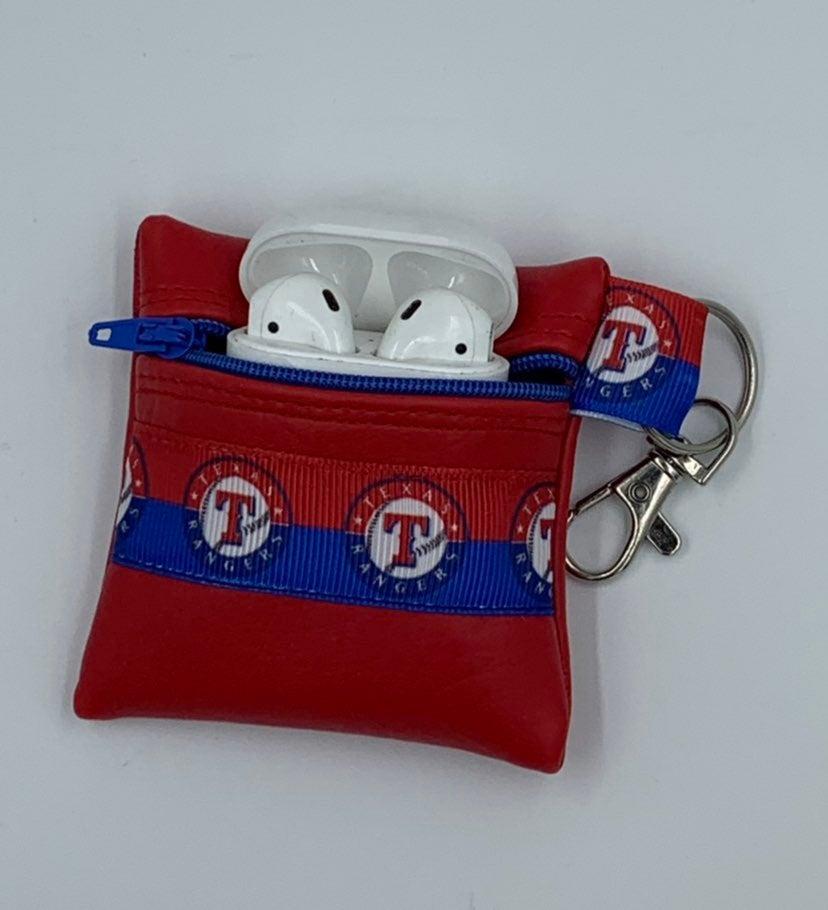 Texas Rangers Baseball Airpods case