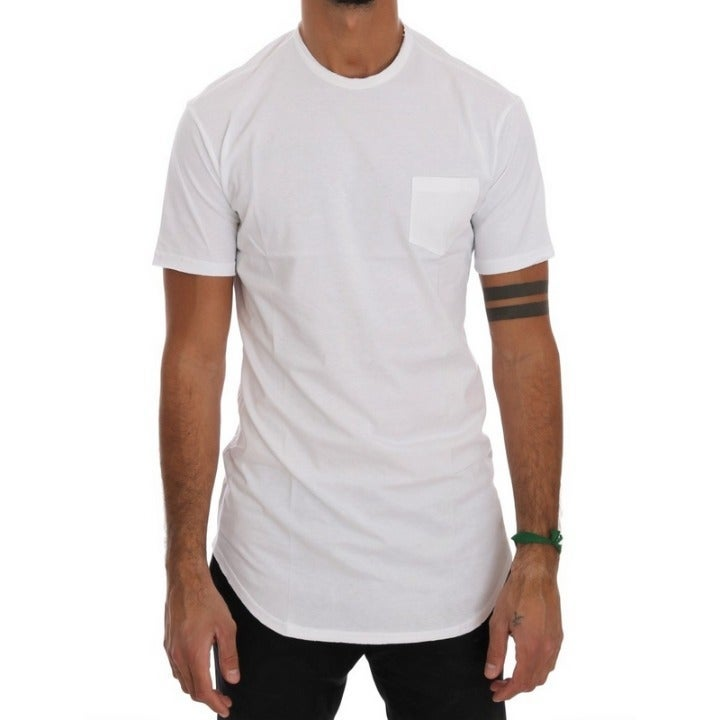 DANIELE ALESSANDRINI COTTON T-SHIRT