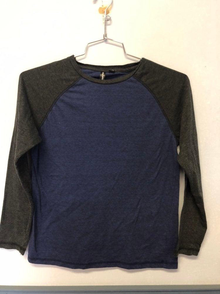 Ocean Current Boys Long Sleeve Shirt - S