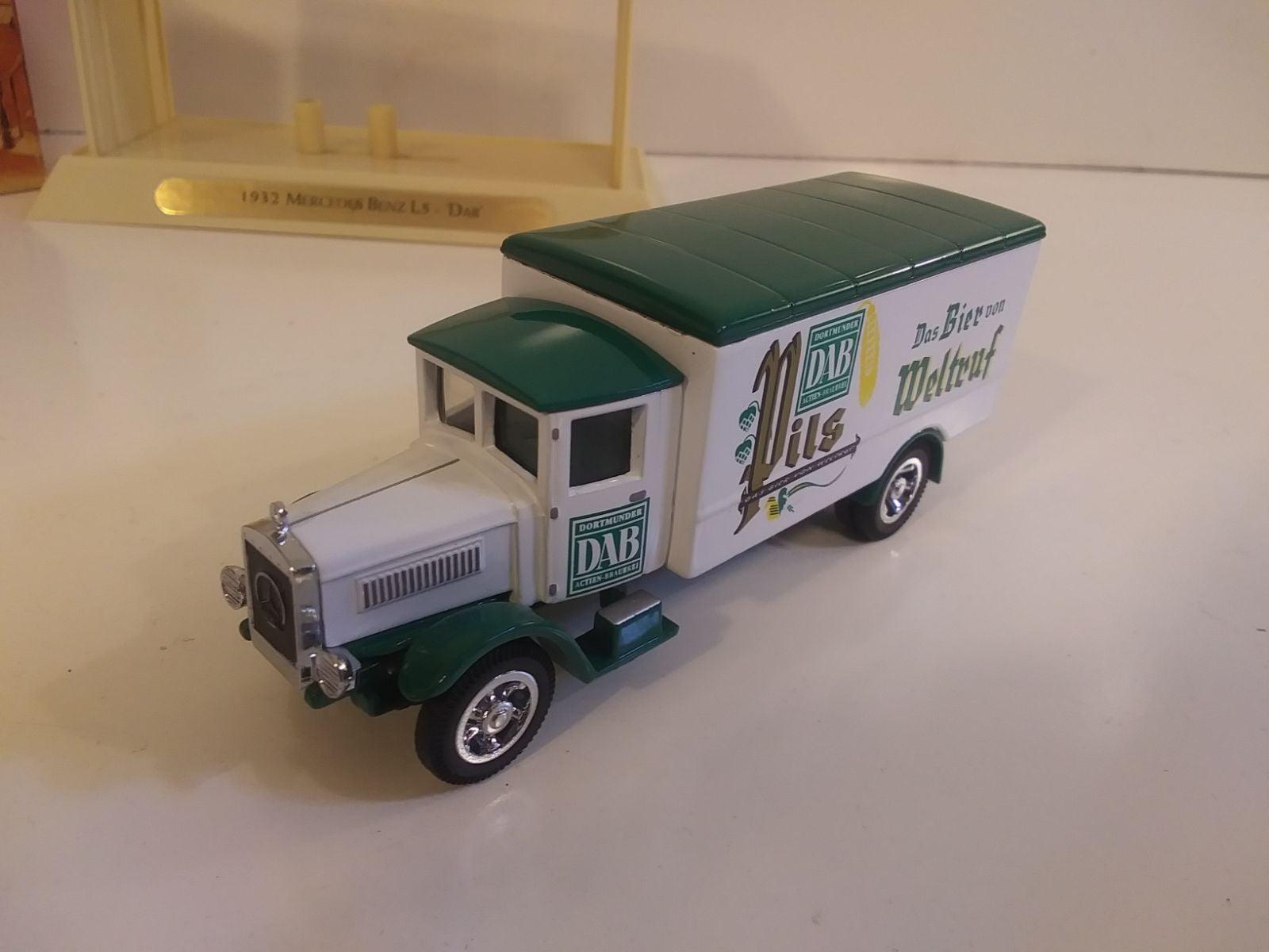 Matchbox 1932 Mercedes Beer Truck & Box
