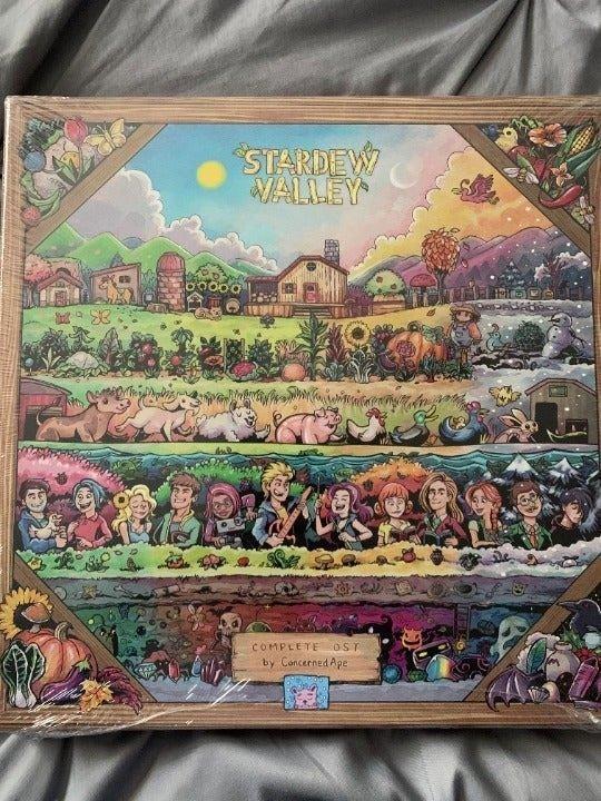 Stardew Valley OST Vinyl 4xLP Brand New!