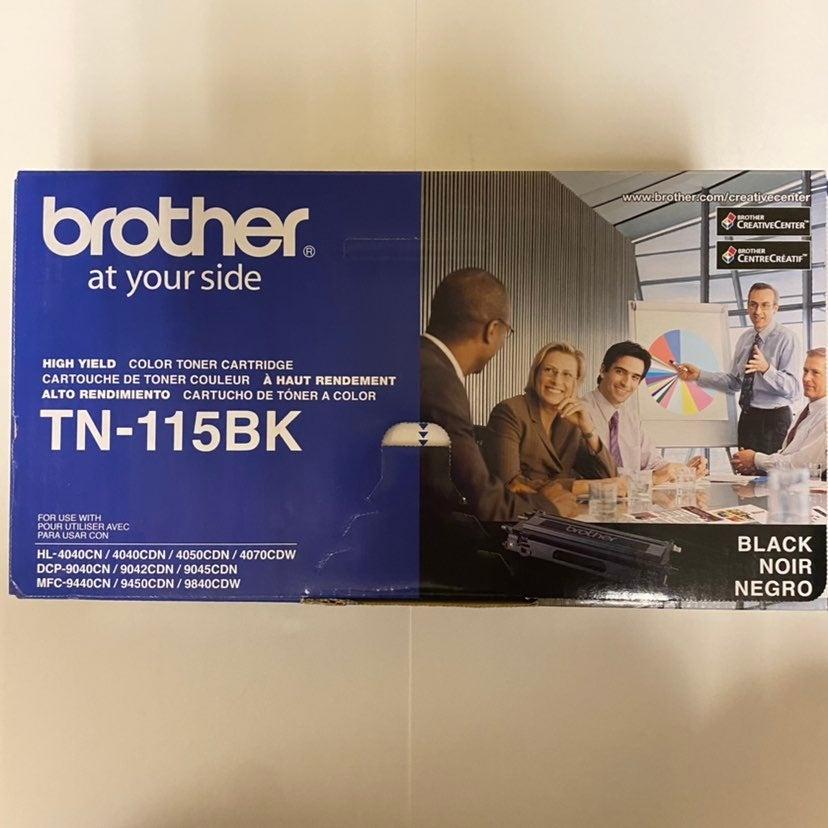Brother TN-115BK High Yield Black Toner Cartridge