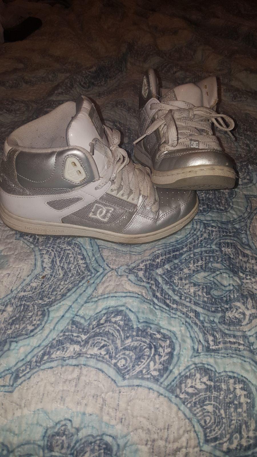DC high top sneakers