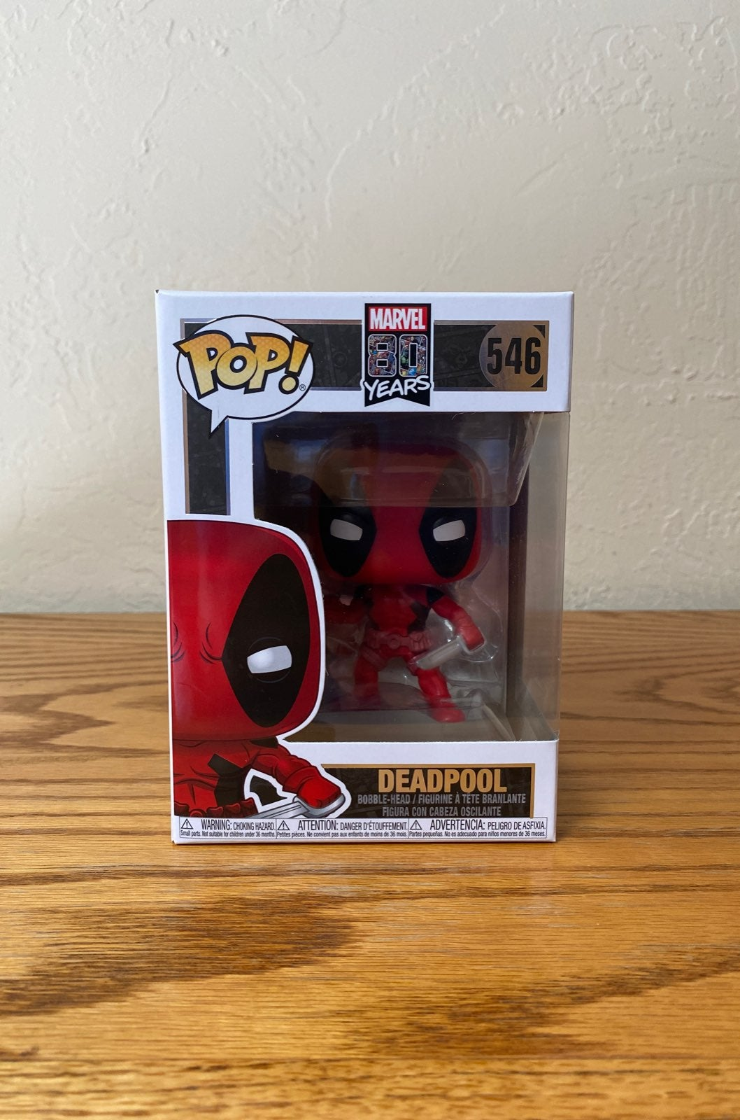 Deadpool 80th Anniversary Funko Pop