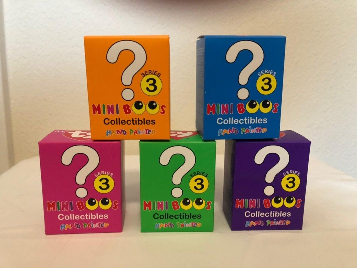 Ty Mini Boos Series 3- Lot of 5
