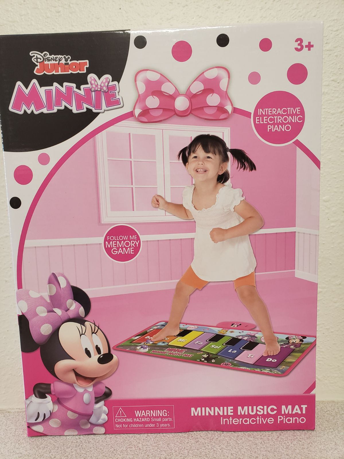 Minnie Mouse Disney Play Floor Paino