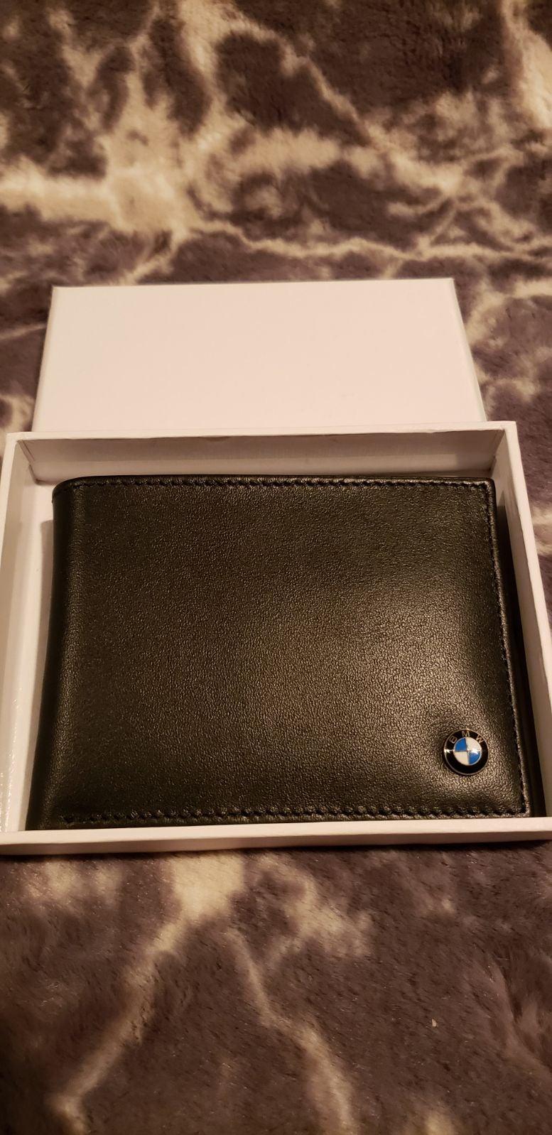 BMW Bi-Fold Genuine Leather Wallet
