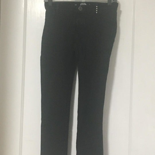 Black Jeggings with Studded Detailing