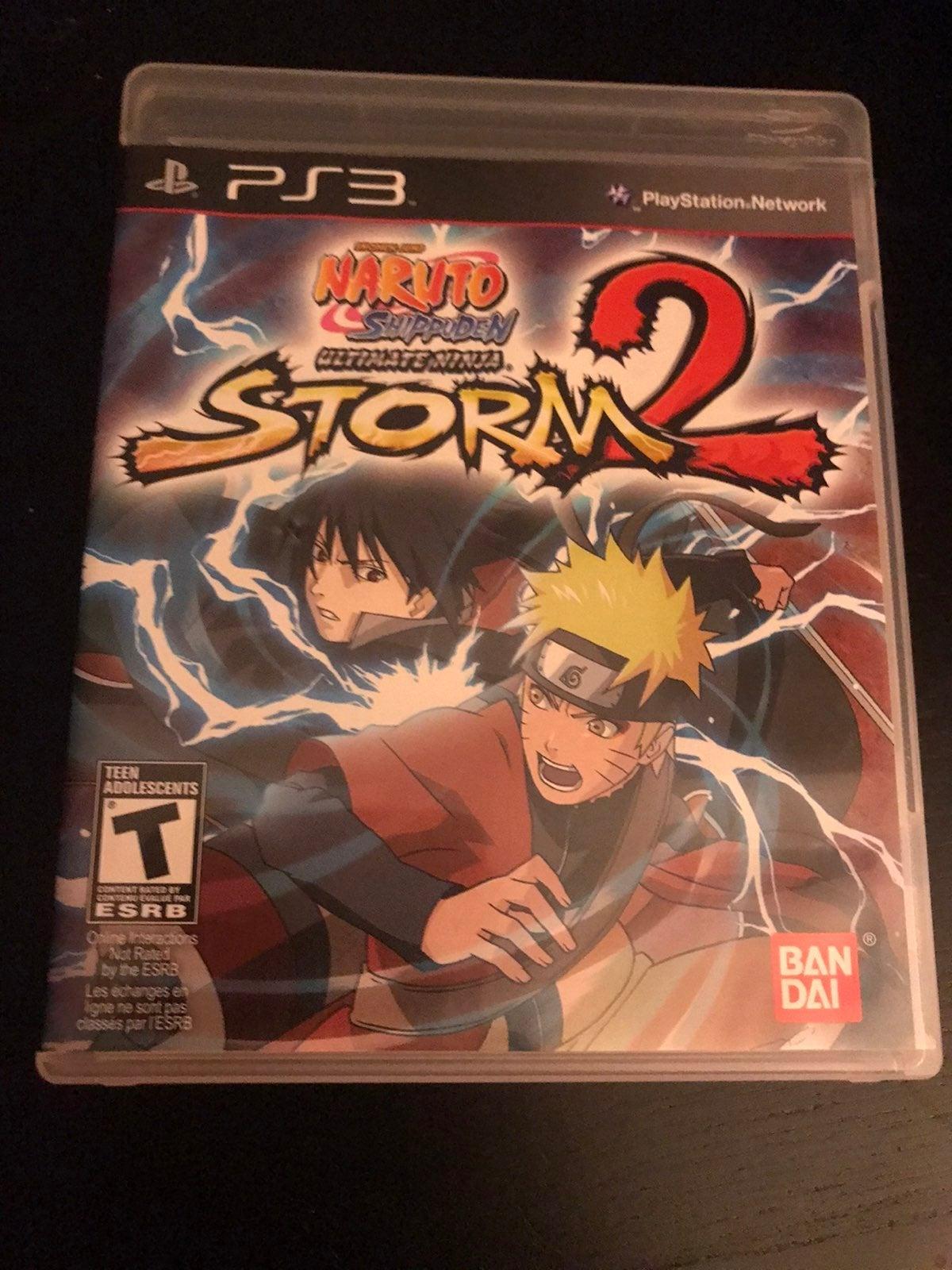 Ultimate Naruto ninja Storm 2 PS3 game