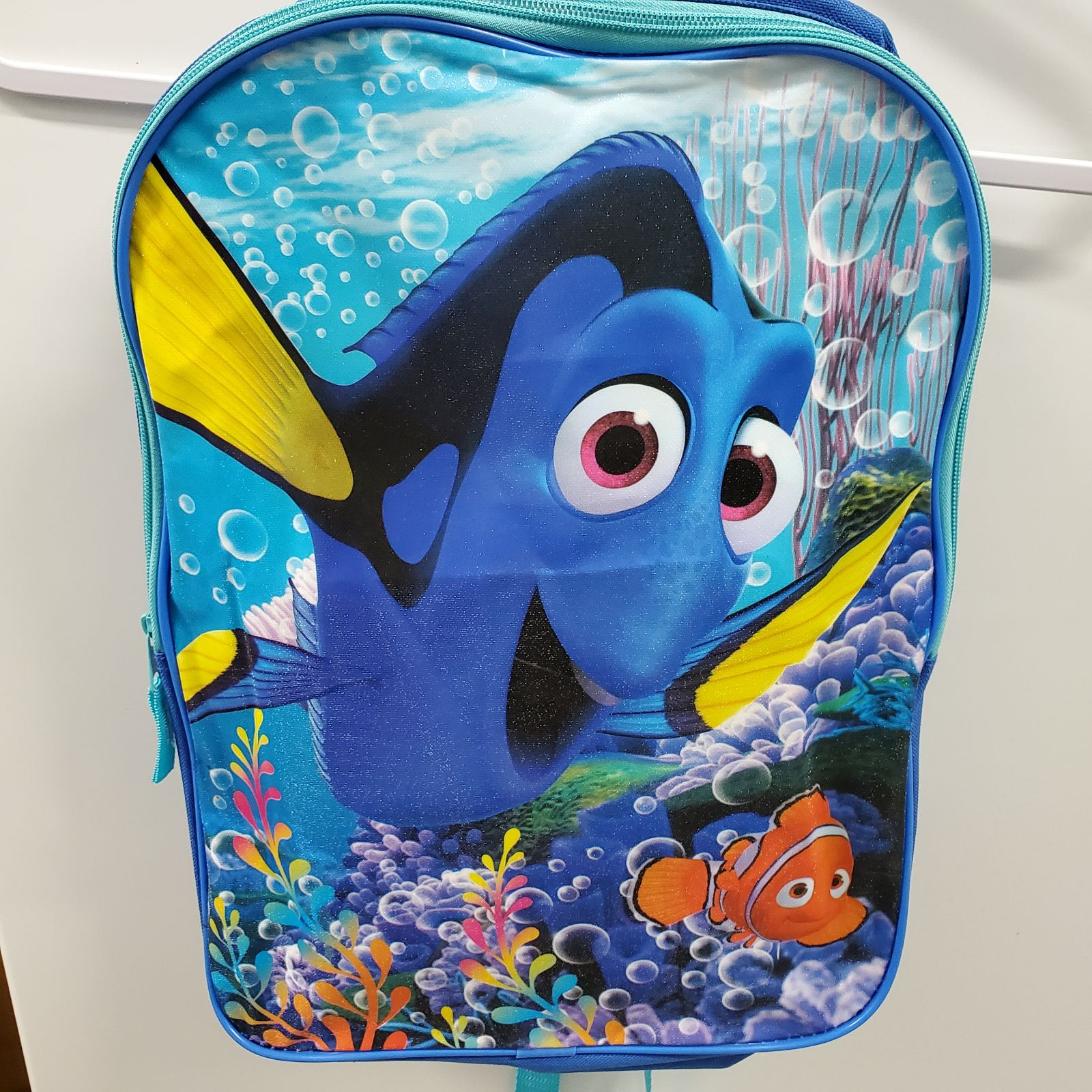 Finding Dory Backpack w School supplies