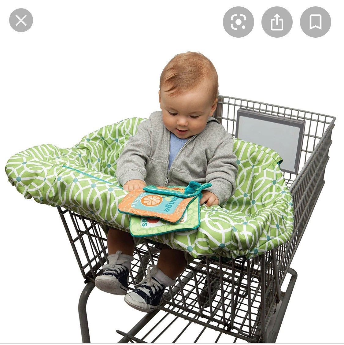 Boppy Shopping Cart High Chair Cover