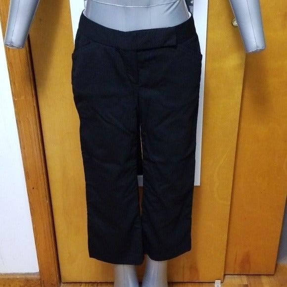 TAHARI black cropped pants