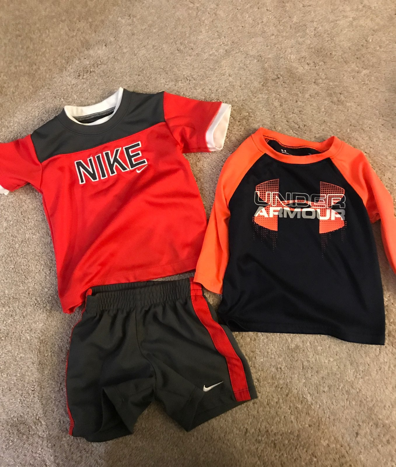 Nike/under armour