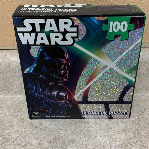 Star Wars foil puzzle