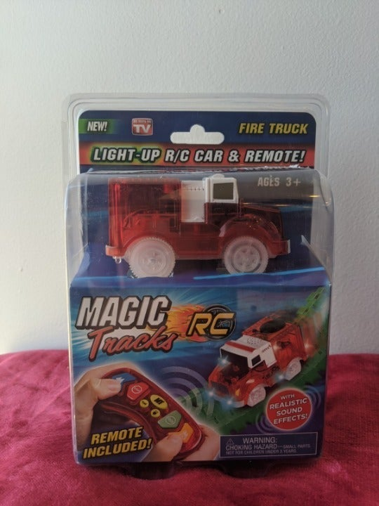 Magic Tracks Fire Truck RC Car