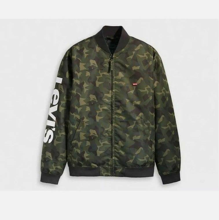 Levis Baker Bomber Jacket, Men's, Camo