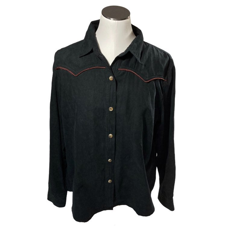 Bit and Bridle XL Pearl Snap Shirt