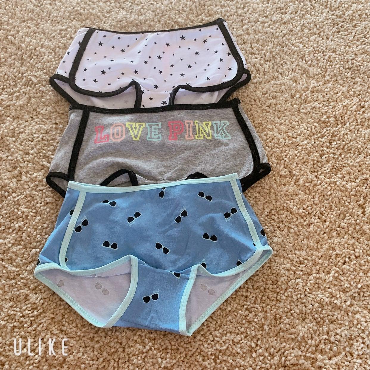 VSPINK Boyshort / Boxer Panties Bundle S