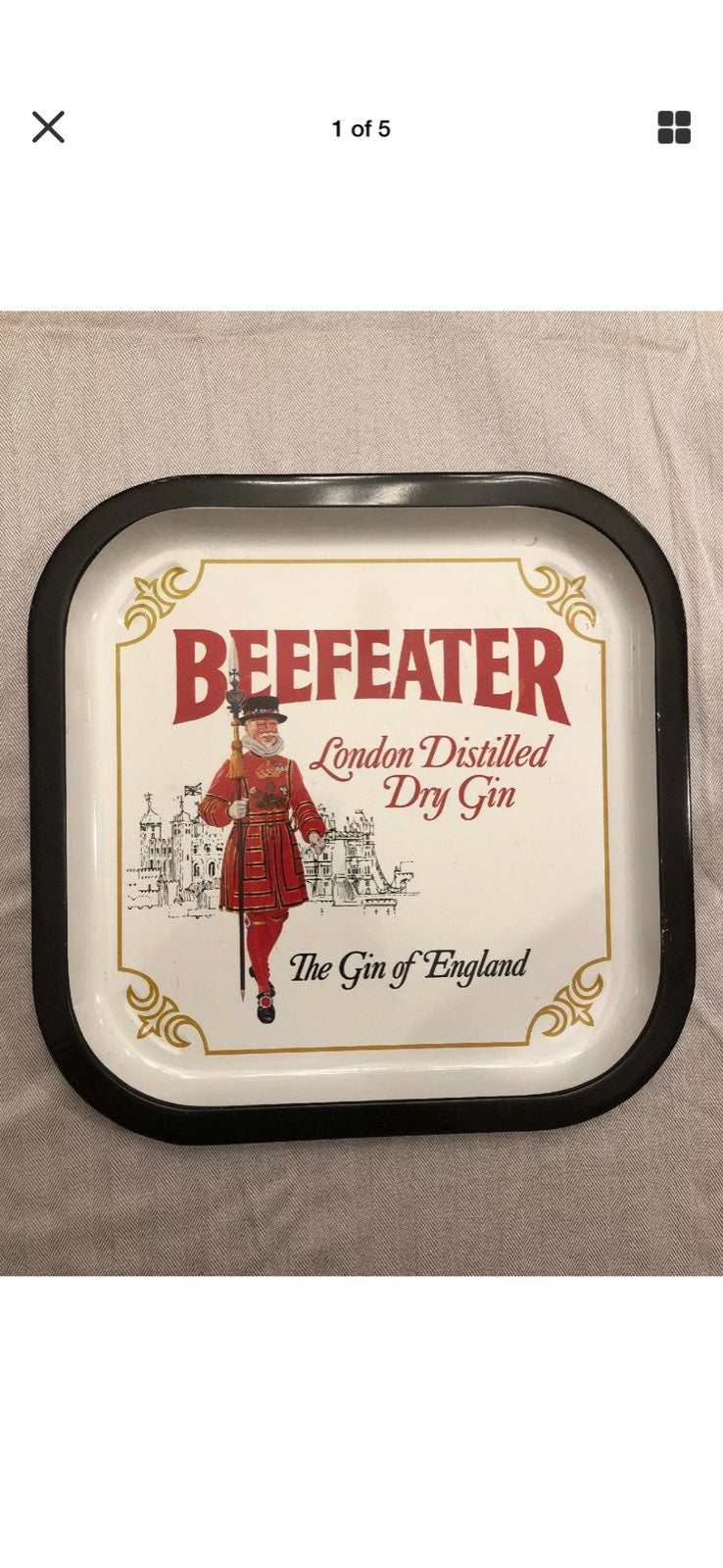 Beefeater London Distilled Dry Gin Tray