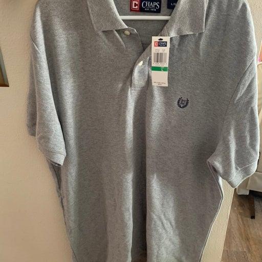 Grey Chaps Men Polo Shirt