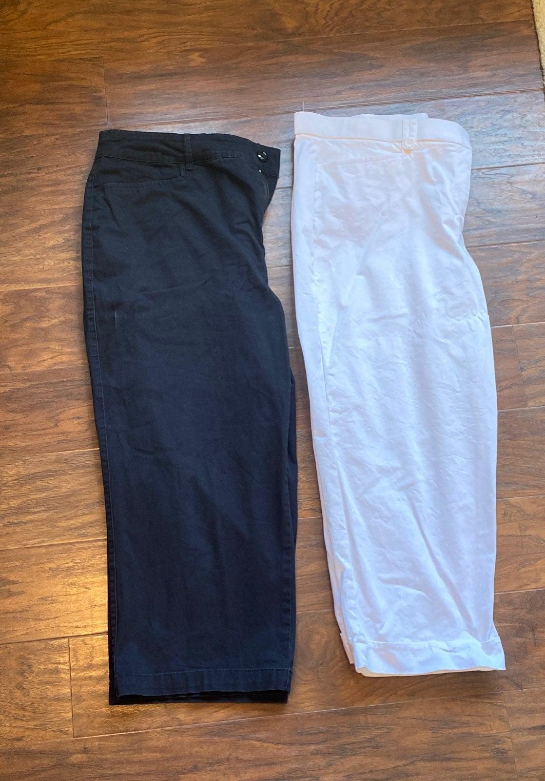 2 pairs Capri Pants