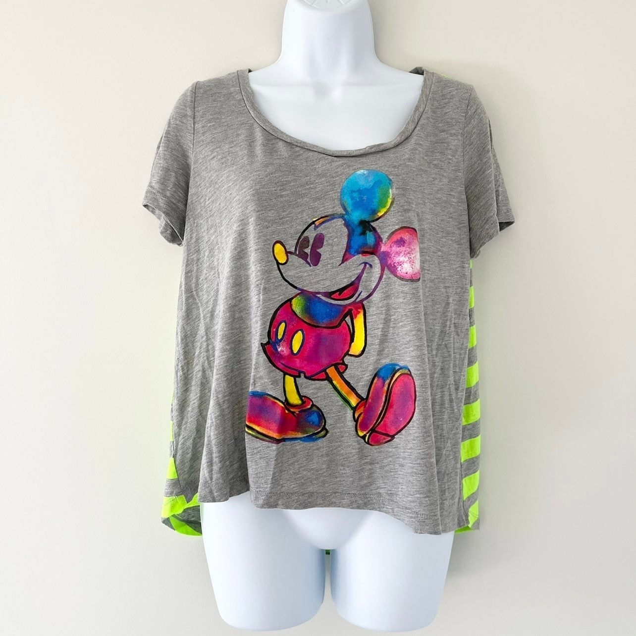Disney Watercolor Mickey Mouse T-Shirt