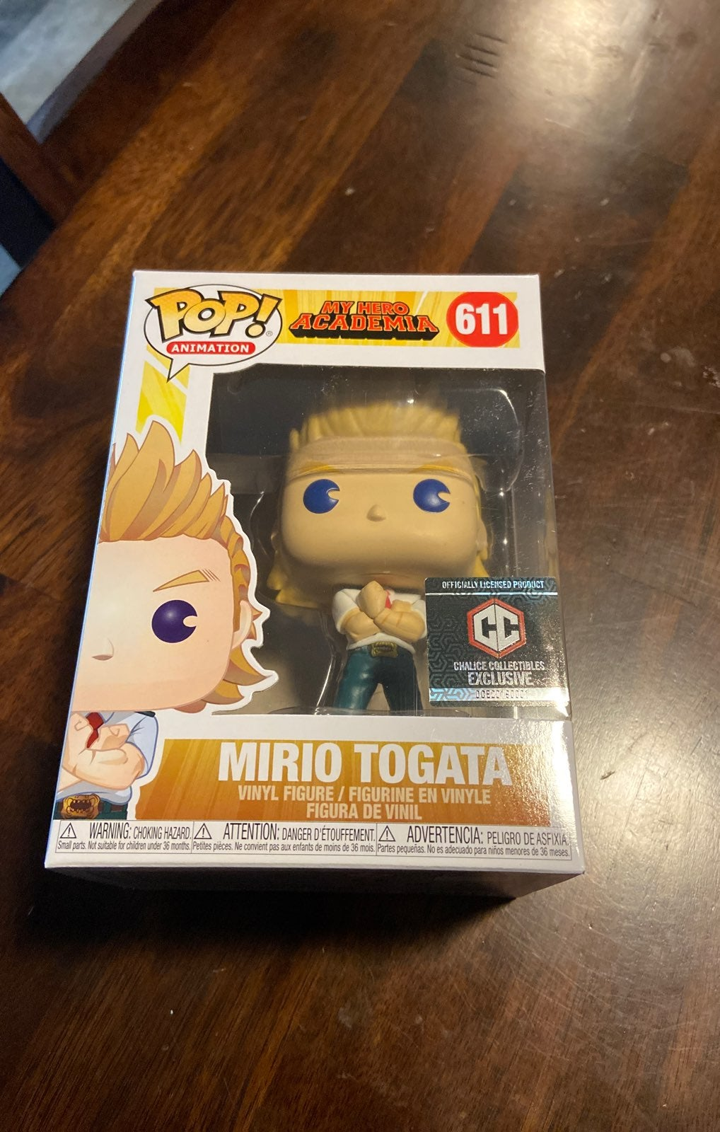 Mirio Togata Funko Pop