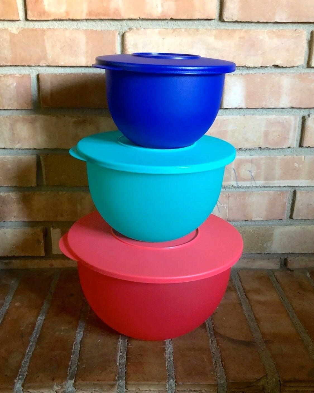 Tupperware Classic Impressions Bowl Set