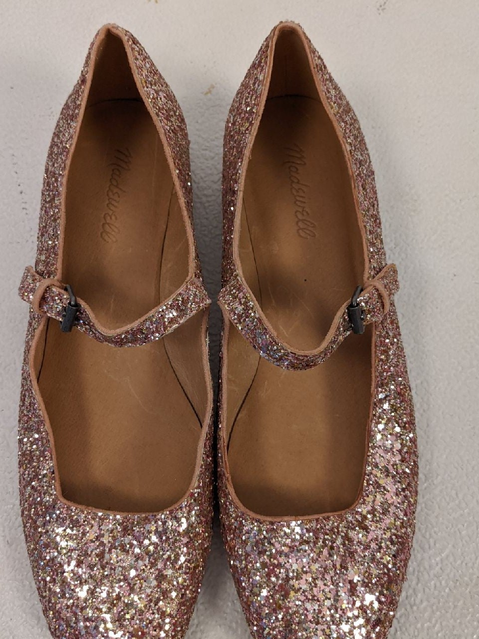 the delilah mary jane in glitter