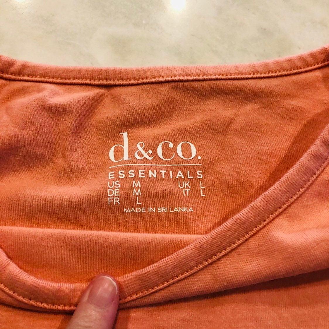New! Denim & Co. Boatneck 3/4 sleeve top