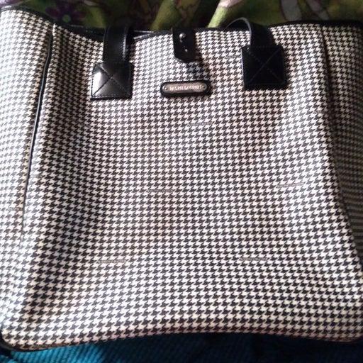 Large designer purse by Ralph Lauren