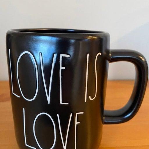 Rae Dunn LOVE IS LOVE mug