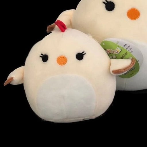 """Squishmallow charity the chicken 5""""'nwt"""