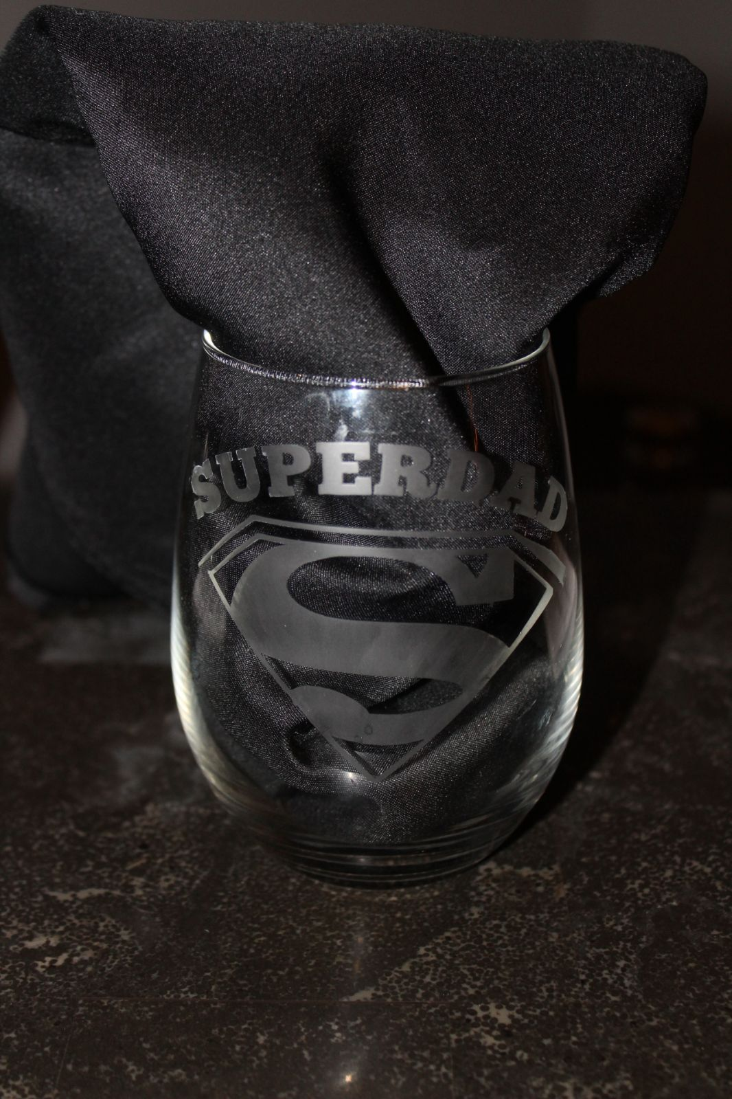 SUPER DAD Glass