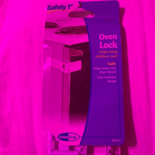 Safety first oven lock baby locks