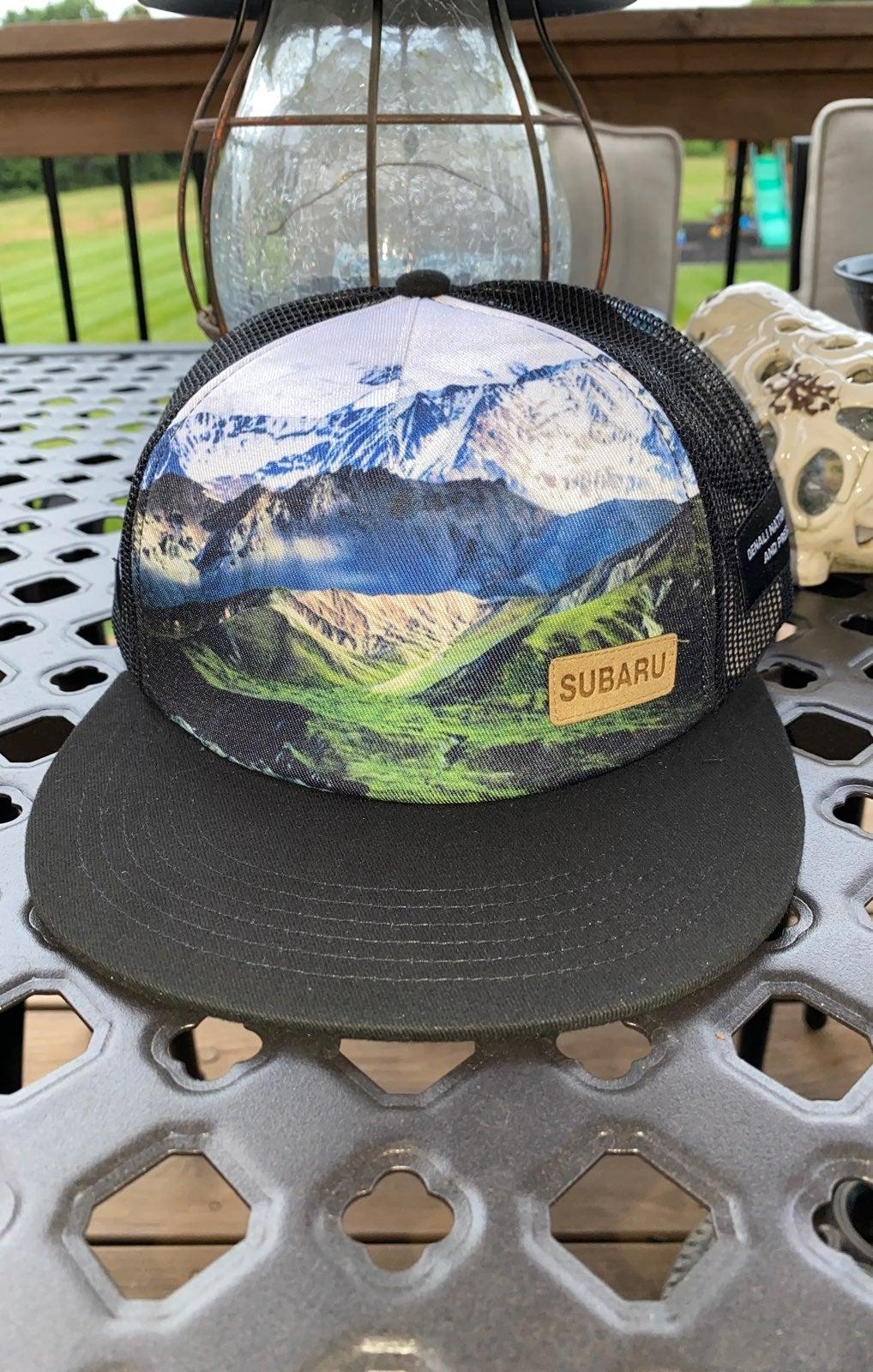 Subaru Denali National Park flat bill ha