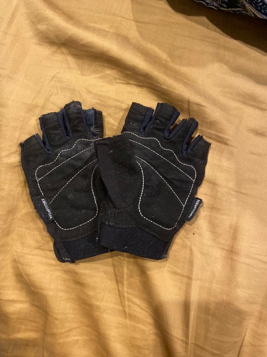 Nike dryfit gloves