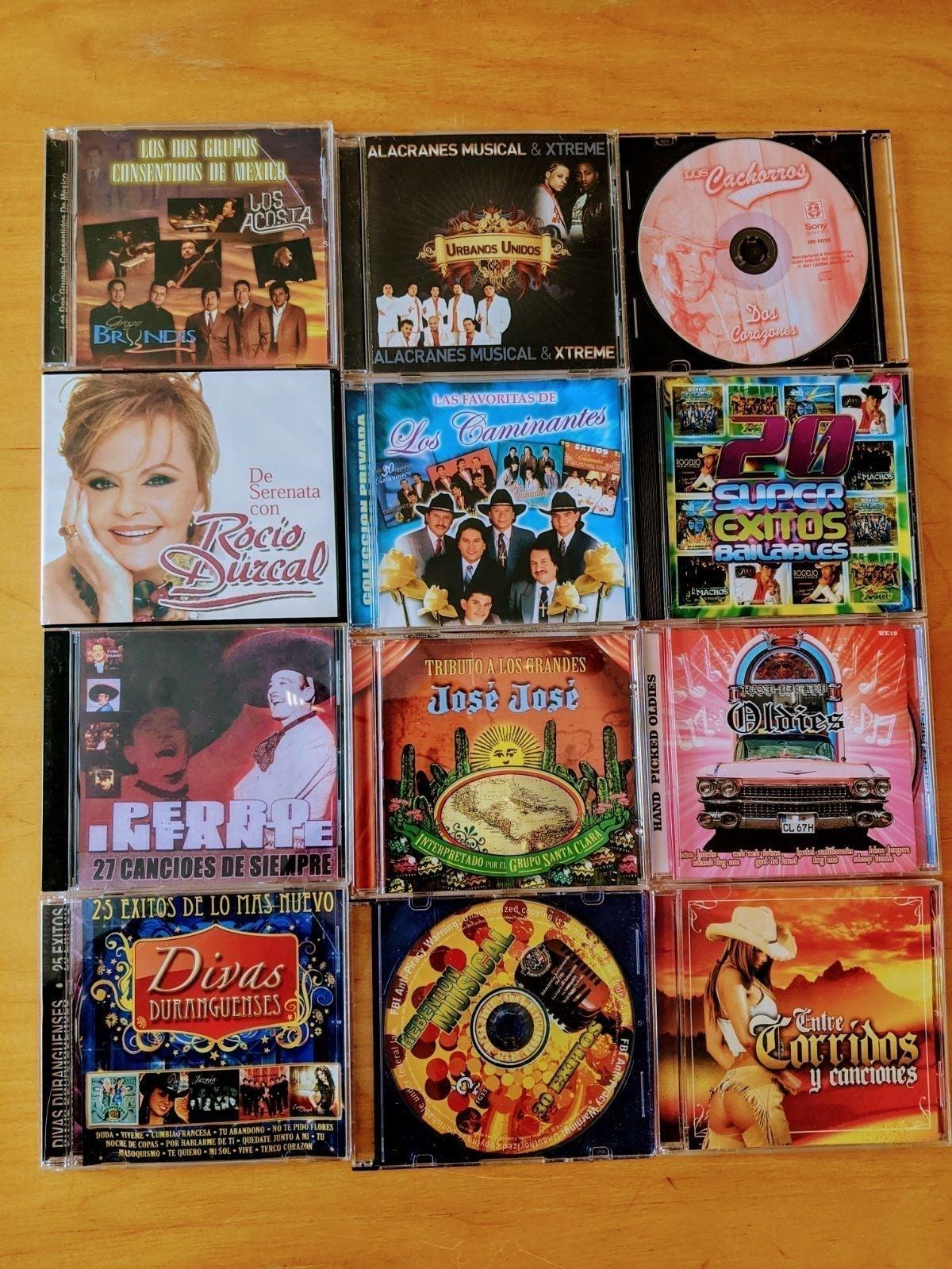 CD Lot of 34 Mariachi/Ranchera/Banda!