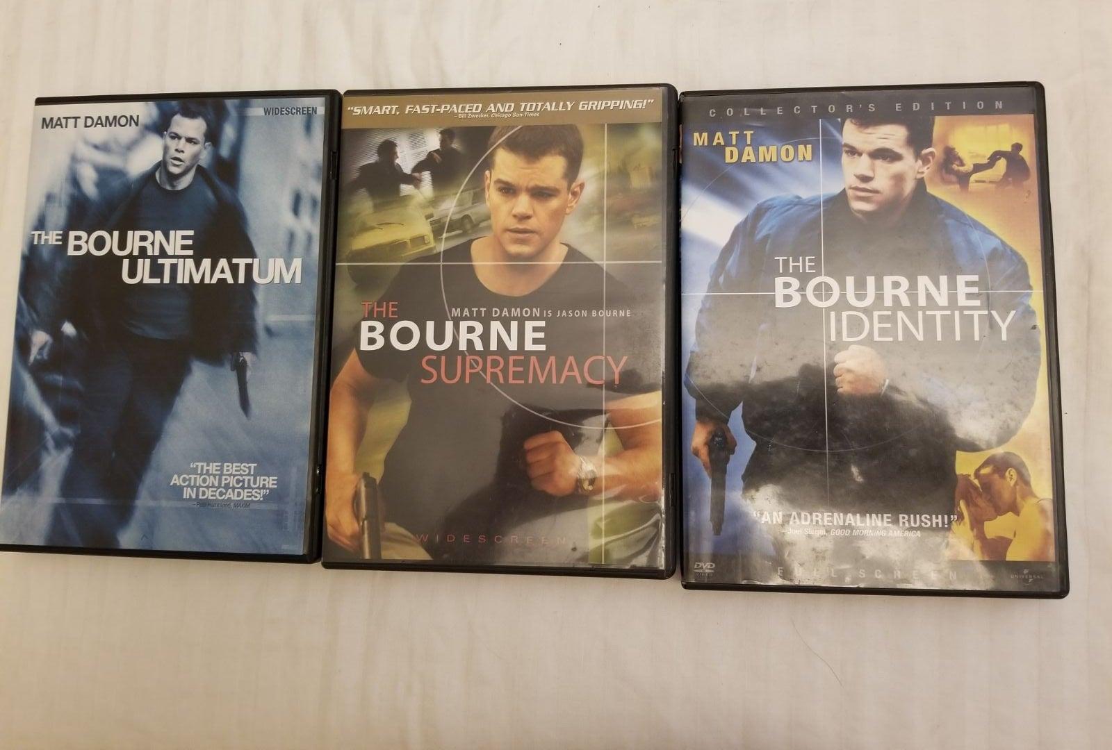 Bourne Trilogy DVD's