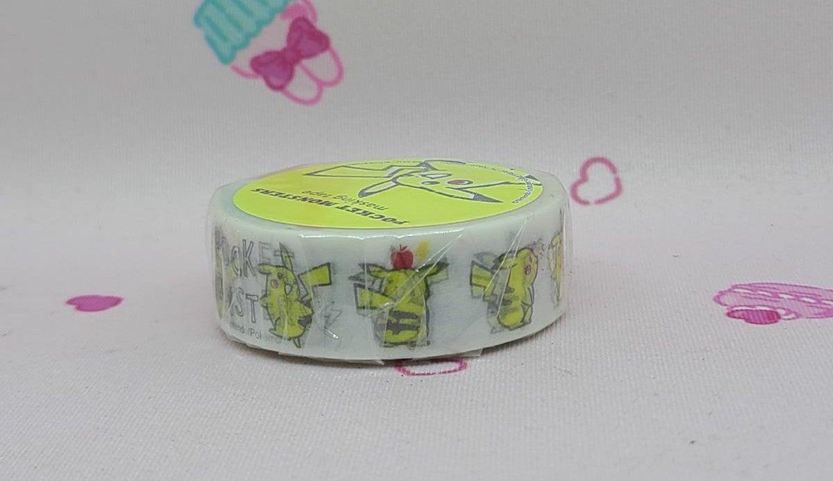 Pokémon Pikachu Washi Tape