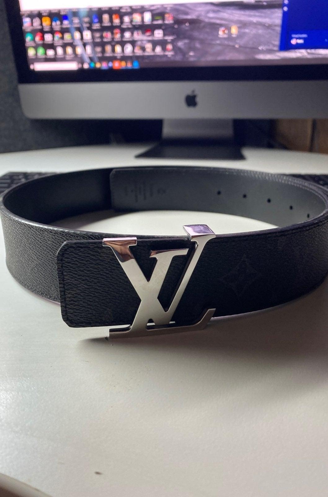 Louis Vuitton Reversible Belt 95/38