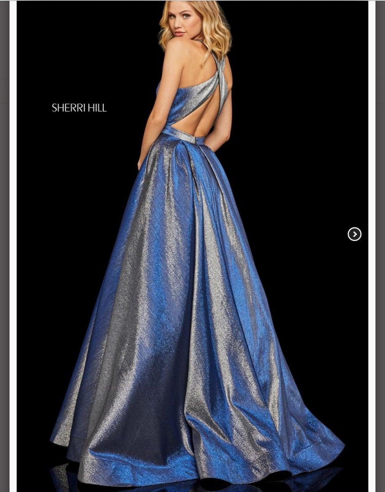 NWT Sherri Hill ballgown prom dress 4